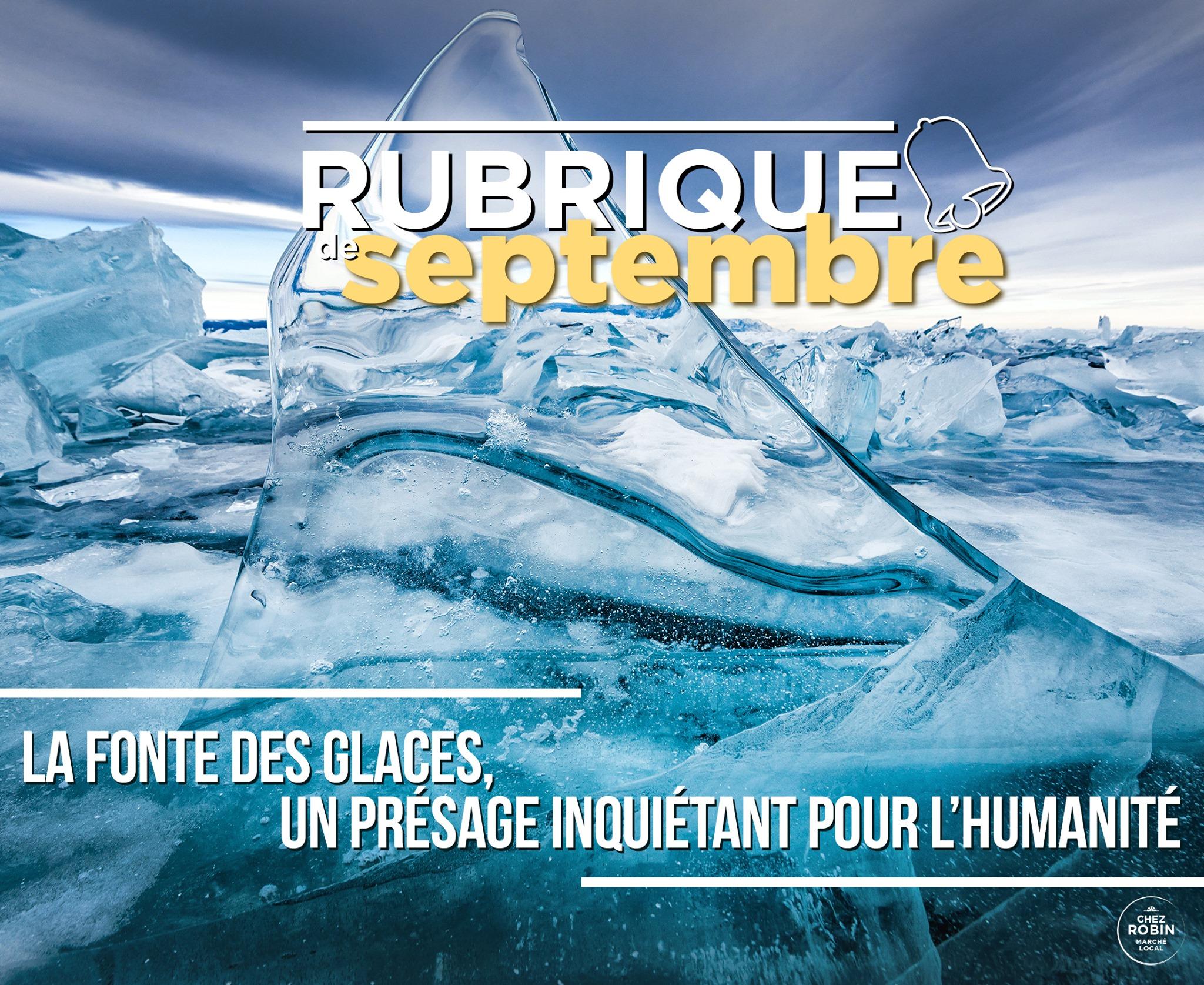La fonte des glaces, un présage inquiétant pour l'humanité